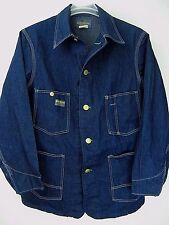 Osh Kosh B'Gosh 42 Reg Vintage Denim Work Jean Jacket USA Sanforized Union Made