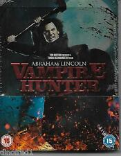 Abraham Lincoln Vampire Hunter - Limited Edition Steelbook [Blu-ray NEW SEALED