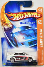 HOT WHEELS  2007 TRACK STARS  SUBARU IMPREZA  #02/12 WHITE