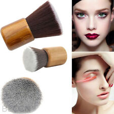 Professional Flat Foundation Face Blush Kabuki Powder Contour Makeup Brush Tools