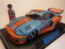 Sideways by Racer Porsche 935/77A Gulf SWHC04 Autorennbahn 1:32 Slotcar