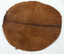 "16"" Goat Skin Djembe Drum Head with Fur natural/Bonga Drum Head Skins/Bombo Drum"