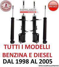 4 AMMORTIZZATORI ANTERIORI+POSTERIORI BMW SERIE 3 (E46) 318d 320d 330d 316 318i
