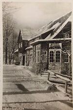 26526 Foto AK Boberkretscham Bober Häuser im Riesengebirge Schlesien 1938