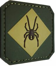 RED BACK ONE SPIDER TAC TRAINING BADGE MORALE PVC MILITARY MULTICAM VELCRO PATCH
