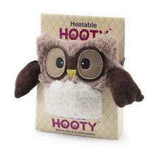 "Warmies Intelex 10"" Brown Hooty Owl Microwavable Heatable Cozy  Lavender Scented"