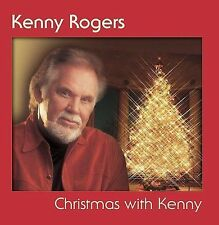 KENNY ROGERS - CHRISTMAS WITH KENNY - MUSIC CD - LIKE NEW - E025