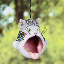 Jim Shore Heartwood Creek Cat Open Mouth Birdfeeder Free Shipping #4026864