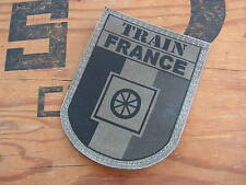 Patch Velcro FRANCE OPEX - format félin - TRAIN - basse visibilité OD