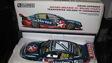 CLASSIC 1/18 V8 SUPERCARS  2016 HOLDEN VF COMMODORE LOWNDES  VORTEX  251 STARTS