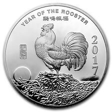 5 oz Silver Round - APMEX (2017 Year of the Rooster) - SKU# 101665
