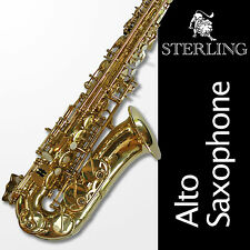 Alto Sax • Brand New • Quality STERLING Eb Saxophone • Case and Accessories •