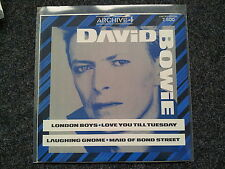 David Bowie - London boys/ Love you till Tuesday 12'' Vinyl Maxi