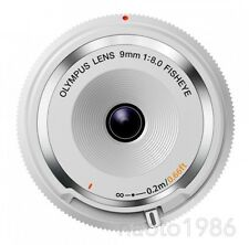 OLYMPUS SLR Mirror-less 9mm F8.0 Fisheye Cap BCL-0980 White (F/S+TrackingNumber)