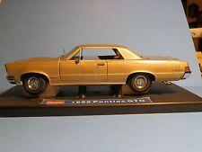 1965 Pontiac GTO 1:18 Scale Die Cast Car - NIB