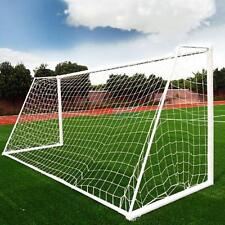 7.3*2.4m Football Soccer Training Goal Post Net For Sport Practice Outdoor White