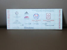 TICKET : SKONTO RIGA - RAPID BUCAREST 04-08-1999 CHAMPIONS LEAGUE