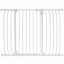 SUMMER INFANT Sure and Secure Walk Thru SAFETY GATE, Extra Tall BABY GATE, White