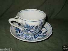 BLUE DANUBE CUP AND SAUCER SET