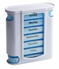 Tower Pillendose Tablettenbox mit 4 Tageseinteilungen - Englisch