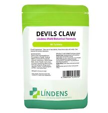 Devils Devil's Claw 2-PACK 180 Tablets Multi Botanical Cat's Claw Willow Garlic