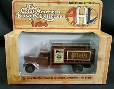 NEW Piel's Light Beer American Highway Legends Peterbilt 260 Semi Truck AHL toy