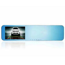 "4.3"" Full-glass 1080P Dual Camera Lens Rearview Mirror Dash Car Cam Recorder"