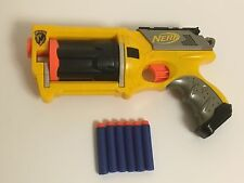 Nerf Gun Maverick Rev-6 N-Strike Hasbro,6 Darts Included,Ready To Play Kids Toy
