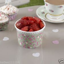 New wedding afternoon tea party vintage frills & spills 8 sweet ice cream tubs