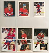 1983-84 Topps Sticker Montreal Canadiens Team Set (19) Guy Lafleur Etc.