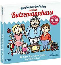 MÄRCHEN & GESCHICHTEN AUS DEM BUTZEMANNHAUS  2 CD NEU