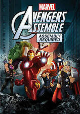 Avengers Assemble: Assembly Required (DVD, 2013) NEW w/ slip