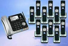 AT&T TL86109 2-LINE DECT 6.0 PHONE SYSTEM - BLUETOOTH - 11 CORDLESS - BRAND NEW