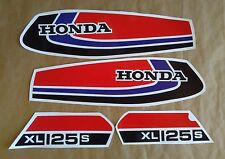 Autocollants / Stickers / Decals Honda XL125S - XLS 125 (78/80)