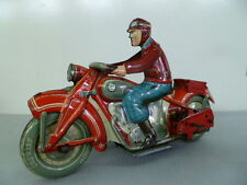 Very RARE !! TIPPCO Motorcycle with sidecar  Made in Germany