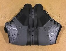 DVS Westridge Size 10.5 Black Grey Warple Buck BMX DC MOTO Snow Series Boots $95