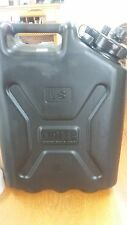 New Scepter Military 5 Gallon Water Can Jug Black Jerry