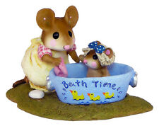 RUB-A-DUB DOLLY by Wee Forest Folk, WFF# M-301, DUCKS Tub
