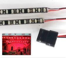 Bande Lampes LED Dbl Densité Brillant Rouge (24 LED/20CM X2) Molex