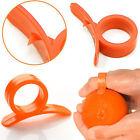 Orange Lemon Citrus Fruit Stripping Ring Peeler Cutter Slicer Skin Remover Open