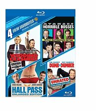 DUMB & DUMBER /HALL PASS/ HORRIBLE BOSSES /WEDDING CRASHERS  BLU RAY Region free