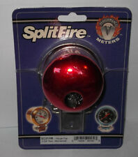 Splitfire mechanical gauge mounting cup - Red, (67mm) SC211M