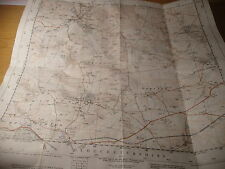 "Gloucestershire, winchcombe, guiting, Cotswolds-ordnance MAP-1920-61:2 1/2"" détail"