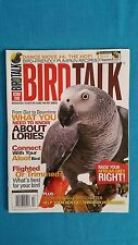 "BIRD  TALK  MAGAZINE                   ""OCTOBER  2008  /  AFRICAN  GREYS"""