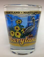 MARYLAND STATE SHOT GLASS NEW