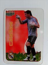 FICHAS LIGA 2006-2007 CRYSTAL CARDS IKER CASILLAS REAL MADRID