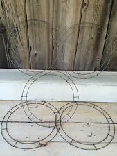 Wire Wreath Forms Floral Christmas Craft Frame 16 inch Heavy Duty Sturdy Lot - 5