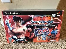 NEW Sealed Tekken 5 Ultimate Collectors Edition PS2 Arcade Stick Limited bundle