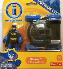 NIB Fisher-Price Imaginext DC Super Friends Batman with Moon Rover Action Figure
