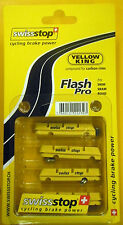 SWISS STOP Flash Pro Yellow king brake pads for carbon rims fits Shimano & Sram
